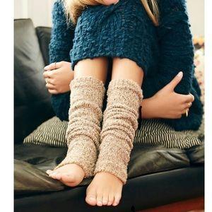 Free People Shakedown Leg warmer-Oatmeal-NWT